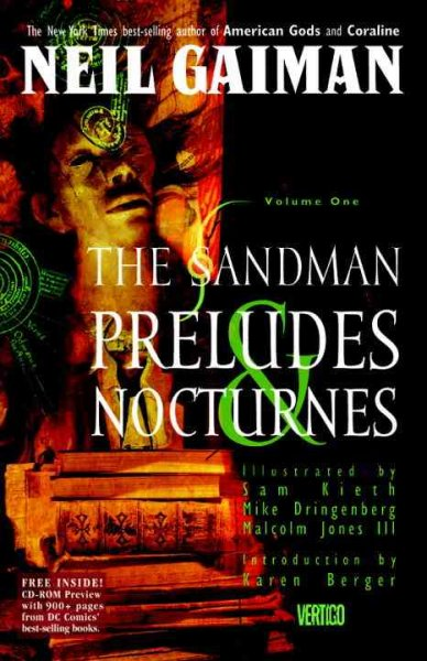 The Sandman Vol. 1: Preludes and Nocturnes cover