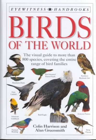 Birds of the World (DK Handbooks) cover