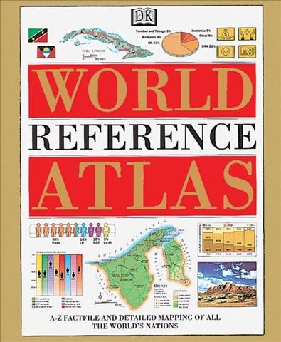DK World Reference Atlas cover