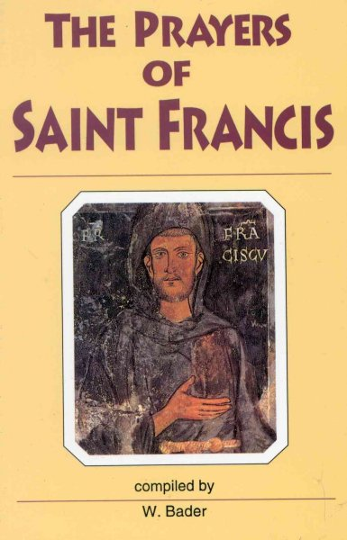 Prayers of Saint Francis cover
