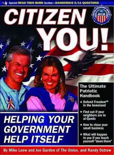Citizen You!: Helping Your Government Help Itself cover