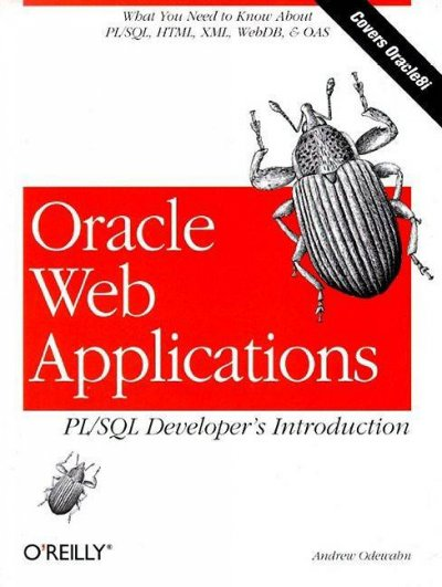 Oracle Web Applications:  PL/SQL Developer's Intro: Developer's Introduction cover