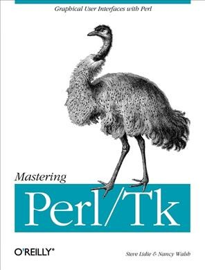 Mastering Perl/Tk: Graphical User Interfaces in Perl cover