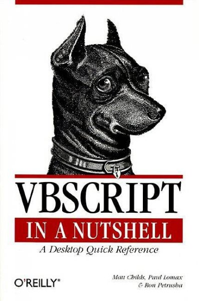 VBScript in a Nutshell: A Desktop Quick Reference (In a Nutshell (O'Reilly)) cover