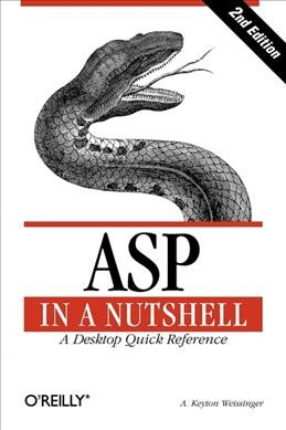 ASP in a Nutshell: A Desktop Quick Reference (In a Nutshell (O'Reilly)) cover