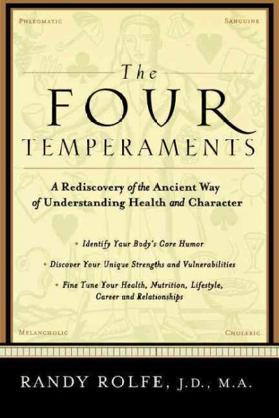 The Four Temperaments cover