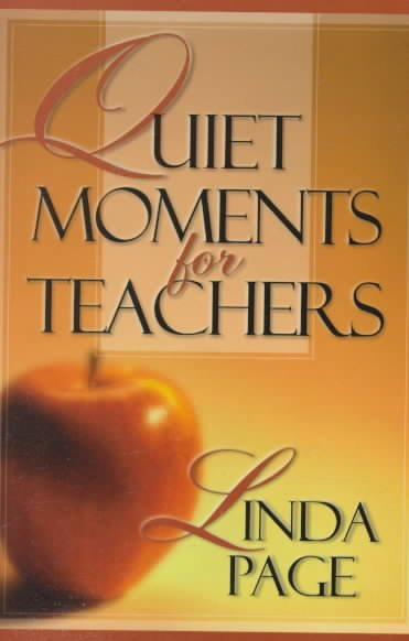 Quiet Moments for Teachers cover