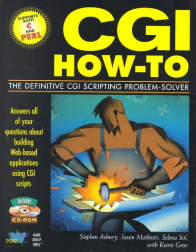 Cgi How-To: The Definitive Cgi Scripting Problem-Solver cover
