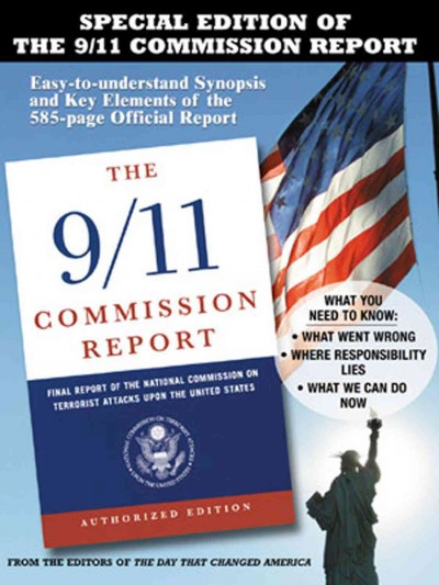 The 9/11 Commission Report: Easy-to-understand Synopsis and Key Elements of the 585-page Official Report cover