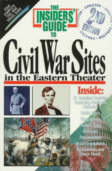 The Insiders' Guide to Civil War Sites in the Eastern Theater, 2nd cover