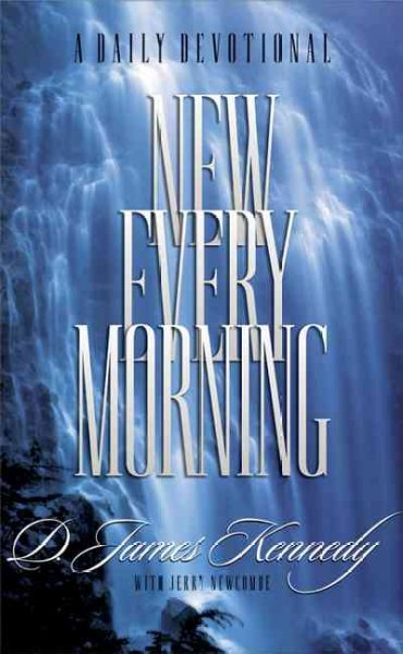 New Every Morning: A Daily Devotional cover