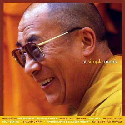 A Simple Monk: Writings on His Holiness the Dalai Lama cover