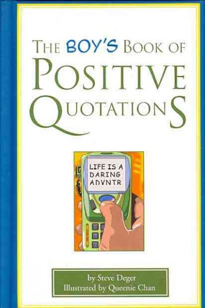 The Boy's Book of Positive Quotations cover