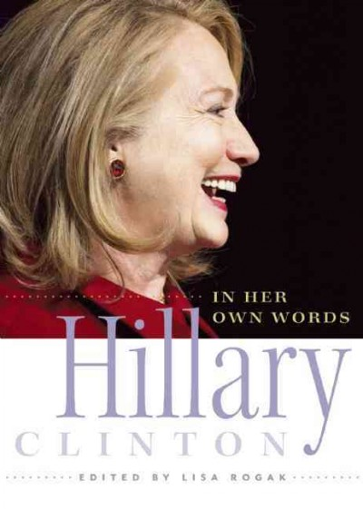Hillary Clinton in Her Own Words cover