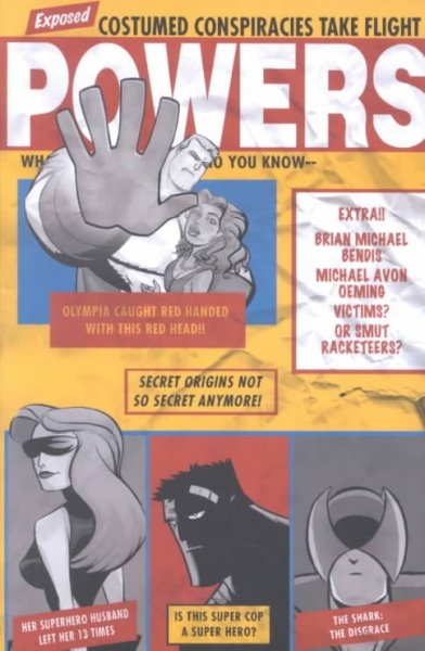 Powers Volume 3: Little Deaths (Powers (Graphic Novels)) (v. 3) cover