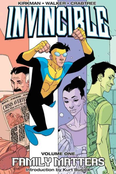 Invincible (Book 1): Family Matters (v. 1) cover