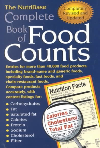 The NutriBase Complete Book of Food Counts cover