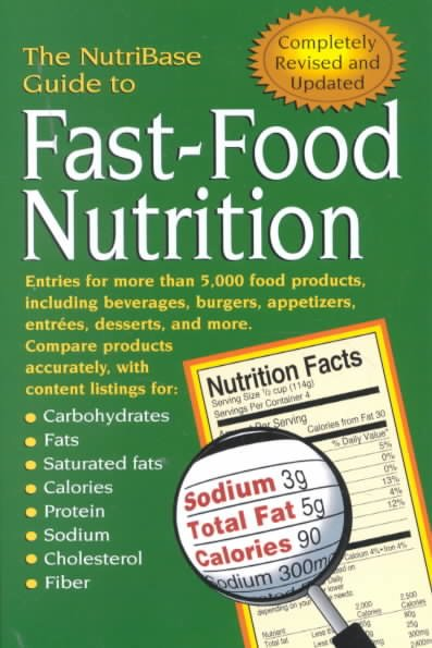 The NutriBase Guide to Fast-Food Nutrition cover