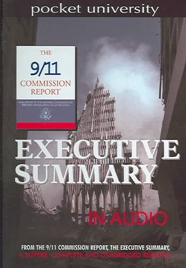 9/11 Commssion Report Executive Summary