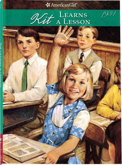 Kit Learns A Lesson (American Girl Collection) cover