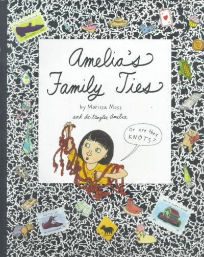Amelia's Family Ties (Amelia (American Girl Paperback)) cover