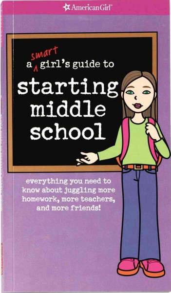 A Smart Girl's Guide to Starting Middle School cover
