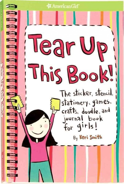 Tear Up This Book! (American Girl Library) cover