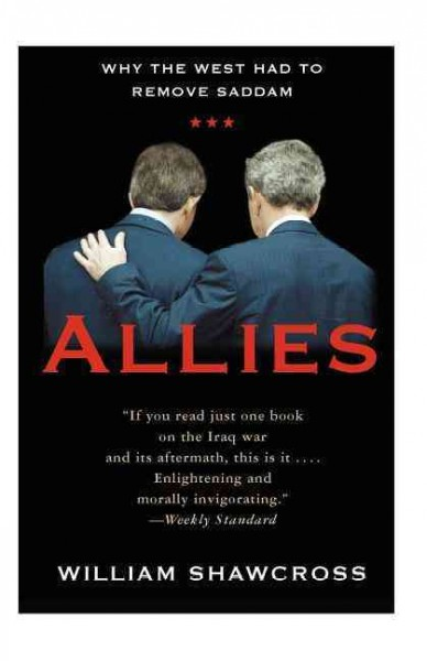 Allies: The U.S., Britain, and Europe in the Aftermath of the Iraq War (Publicaffairs Reports) cover