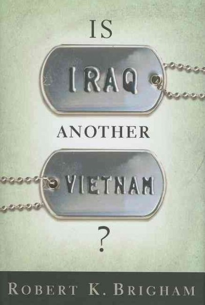 Is Iraq Another Vietnam? cover