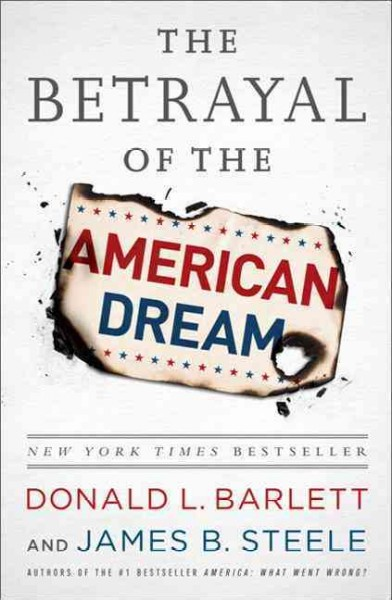 The Betrayal of the American Dream cover