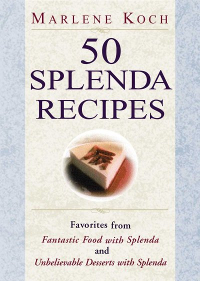 50 Splenda Recipes cover
