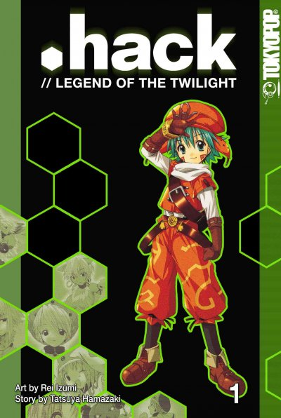 .Hack: //Legend of the Twilight, Vol. 1 cover