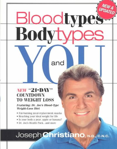 Blood Types, Body Types and You cover