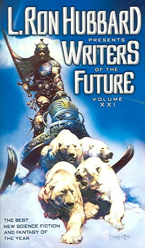 L. Ron Hubbard Presents Writers of the Future Volume 21 cover