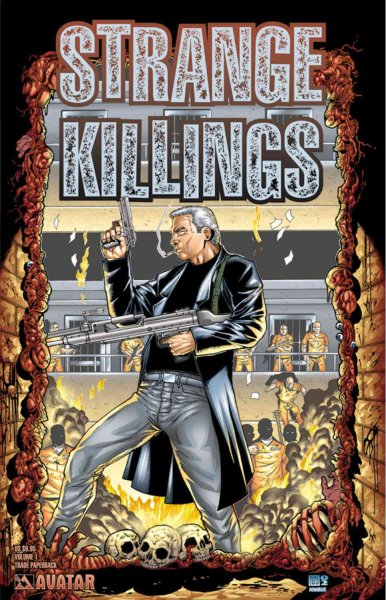 Warren Ellis' Strange Killings cover