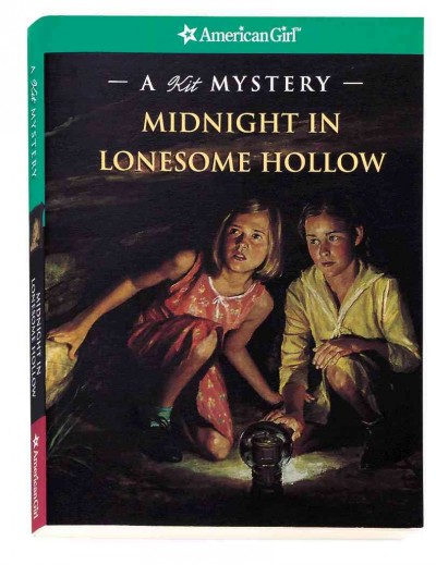 Midnight in Lonesome Hollow: A Kit Mystery (American Girl Mysteries) cover