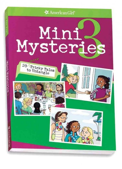 Mini Mysteries 3 (American Girl Mysteries) cover
