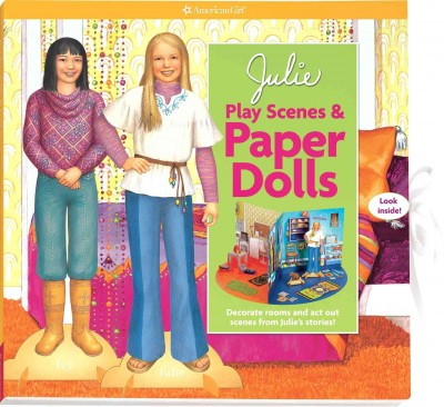 Julie Play Scenes & Paper Dolls (American Girl) cover