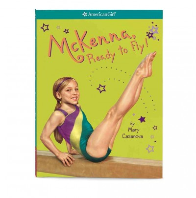 American Girl - McKenna, Ready to Fly! Paperback Book cover
