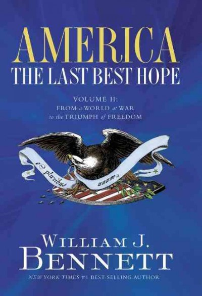 AMERICA: THE LAST BEST HOPE VOL. 2 cover