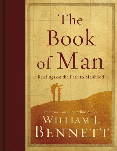 The Book of Man: Readings on the Path to Manhood cover