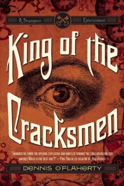 King of the Cracksmen: A Steampunk Entertainment (Liam McCool) cover