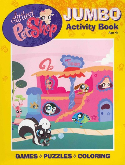 Littlest Pet Shop Jumbo Coloring & Activity cover