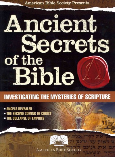 American Bible Society Ancient Secrets of the Bible cover