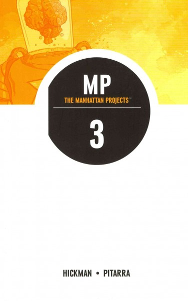 The Manhattan Projects Volume 3 (Manhattan Projects Tp) cover