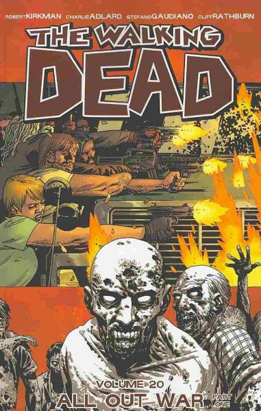 The Walking Dead Volume 20: All Out War Part 1 (Walking Dead (6 Stories)) cover