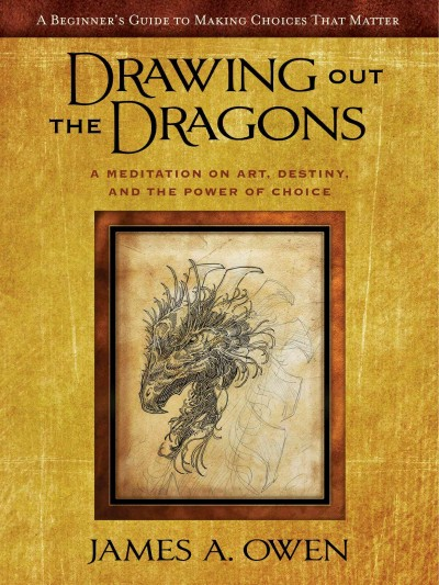 Drawing Out the Dragons: A Meditation on Art, Destiny, and the Power of Choice (The Meditations) cover