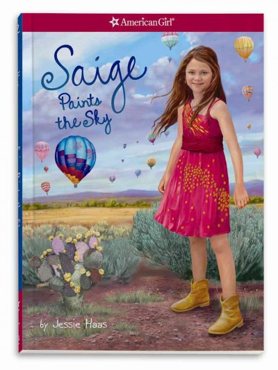 Saige Paints the Sky (American Girl) cover