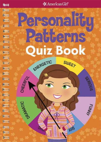 Personality Patterns Quiz Book (American Girl) cover