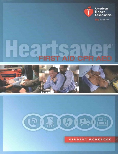 Heartsaver First Aid CPR AED cover